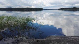 Kuvituskuva: järvimaisema.